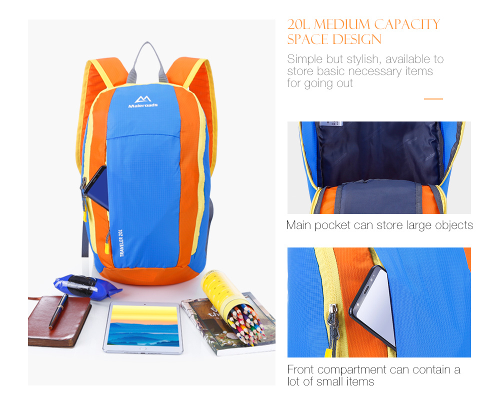 Climbing Bags Sports & Entertainment Maleroads Climbing Hiking Backpack Mini Adult Sport Backpack Shoulder Bag Ultralight For Travelling Outdoor Activity