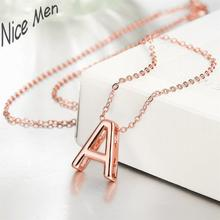 Letters A nice charming 2016 new styles N016 Fashion silver plated links necklace