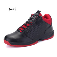 Rofessional Basketball Shoes Male Ankle Boots Outdoor Men Sports Cushioning Training Pu Sneakers Men Height Upper Athletic Shoes