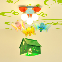 NEW small house Children's Ceiling Lights led lamps Study bedroom led children Ceiling lamps led lustre light Ceiling lamp
