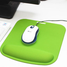 RAKOON rubber mouse pad with wrist rest 22.8*21.3cm more thicker more comfortable for laptop desktop computer