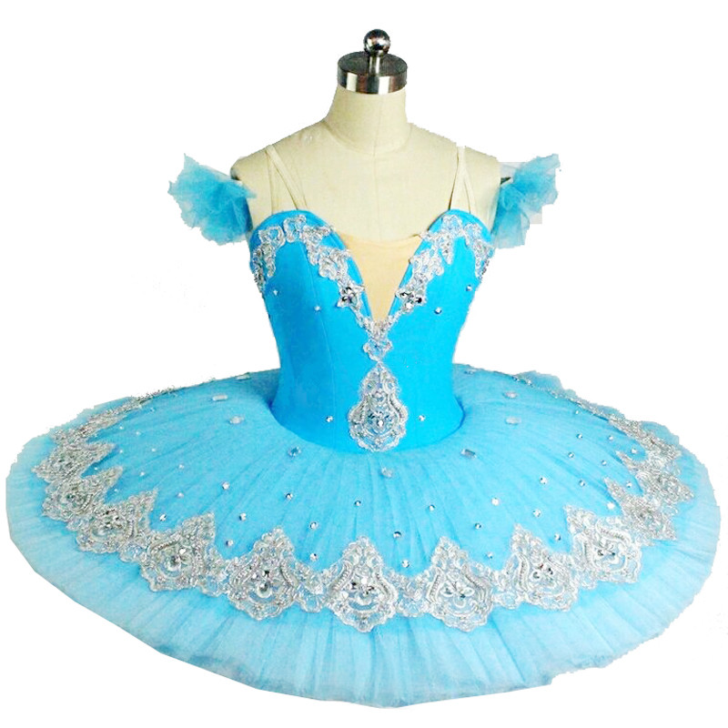 Professional Children Professional Ballet Tutus Blue Ballet Adult Ballet Dance Clothes Girl Puff Skirt Costume Tutu Skirt Women