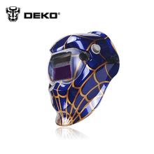 DEKOPRO Spider Solar auto darkening electric welding mask/helmet/welder cap/welding lens for welding machine