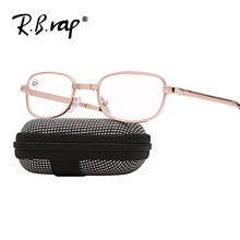 2018 Folding Reading Glasses for Men Women Clear Anti-fatigue HD Resin Glass Lens for Prevent fog water Unisex Reader Glasses(China)