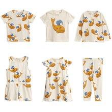 Pre-vendita BOBOZONE 2019SS Balena Giallo t-shirt dress leggings per i bambini  ragazzi a34d6aac94b