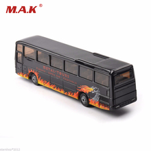 Alloy Diecast Bus Car Model Toys Man Risebus Rock and Roll Band 1624 About 13.5cm Length Truck Car Collections(China)