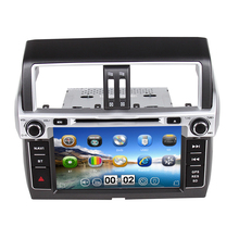 ZOHANAVI Car DVD GPS car radio For Toyota prado 150 LC150 Land cruiser 150 2014 with GPS BT Car Radio Car stereo TV 3G WIFI(China)