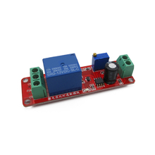 Delay switch robot intelligent car with 12V time delay relay module