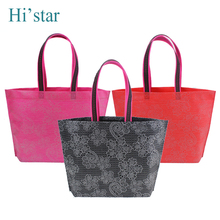 42*32*8CM 10 pieces  2016 Eco Reusable Shopping Bags Cloth Fabric Grocery Packing Recyclable Bag  Design Healthy Tote Handbag