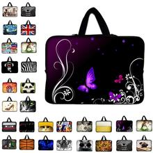 Neoprene Laptop Bag For Notebook Netbook Sleeve Cases Tablet Pouch For 7 8 10 12 13 13.3 15 15.6 17 inch Mini Computer Briefcase(China)