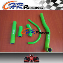 Silicone Radiator Coolant Hose kit For Kawasaki Kx500 Kx 500 1988-2004 GREEN 1996