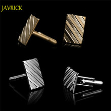JAVRICK Stainless Steel Silvery Vintage Jewelry Wedding Gift Men's Cuff Links Cufflinks for Wedding Best Man Usher New(China)