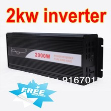 Fedex freeshipping! 2500W /2.5kw Off Grid Pure Sine Wave Power Inverter, 5000w/5kw Peak power inverter, Solar&Wind Inverter
