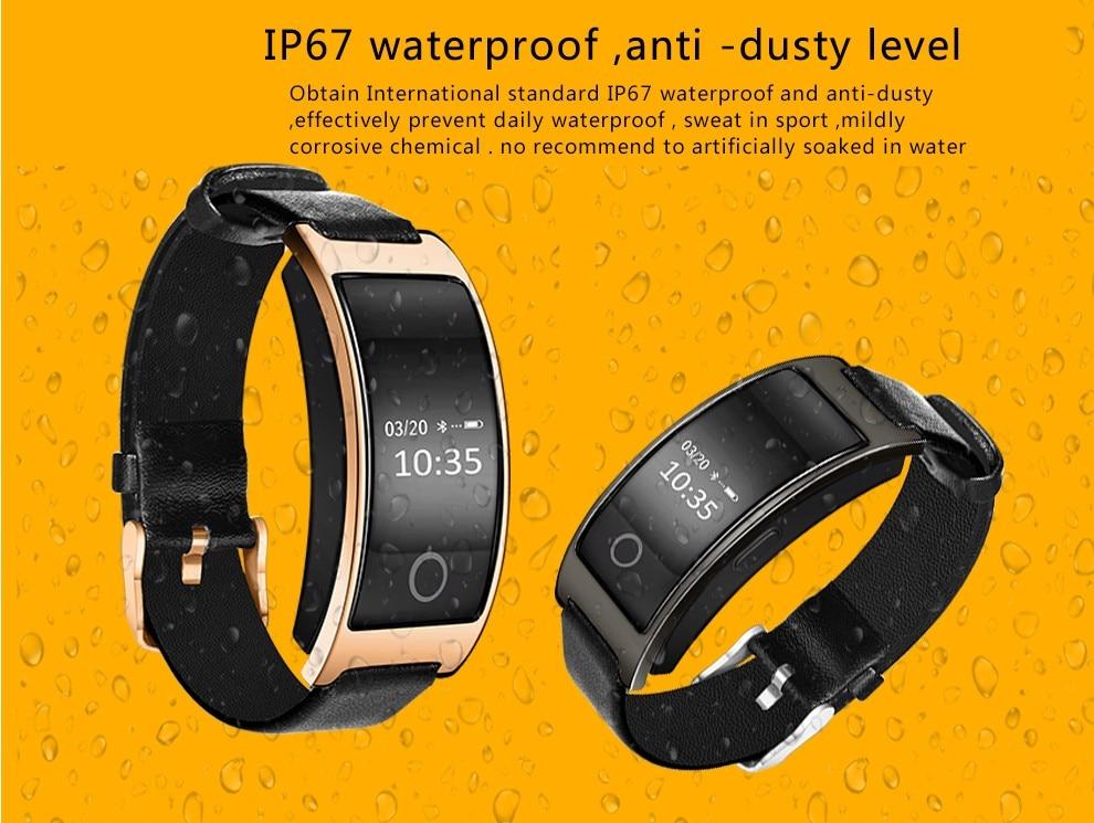 CK11s Bluetooth Smart Wrist Band Watch Blood Pressure Heart Rate Monitor Fitness Tracker Pedometer Smart Bracelet PK MI band