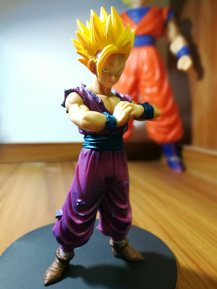 Banpresto Dragon Ball Z Son Gohan Action Figure Resolution of Soldiers Vol.4 Gohan Model Toy Figuras DBZ Super Saiyan Son Gohan<br><br>Aliexpress
