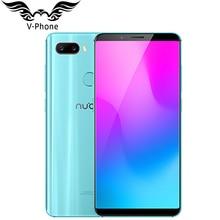 """2018 New Original 6GB 128GB ZTE Nubia Z18 mini Mobile phone 5.7"""" Snapdragon 660 Octa Core 24MP Camera FHD Full Screen Face ID"""