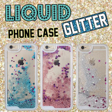 Buy Fashion Glitter Sparkle Liquid Quicksand Star Heart Pink Hard Phone Case Cover Coque Fundas iPhone 6 6S 6Plus 5 5S 7 7Plus for $2.24 in AliExpress store