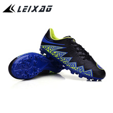 LEIXAG FG/TF Men Soccer Shoes Firm Ground Men Football Shoes Turf Men Soccer Shoes Outdoor Football Games Sport Traning Shoes(China)