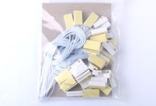 WOFEA 50 pairs Wired magnetic contacts door window sensor for alarm system free shipping(China)