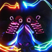 1 Pair 100cm Light up LED Luminous Shoelaces Flash Party Skating Glowing Shoe Laces for Boys Girl Fashion sneakers Shoe Strings