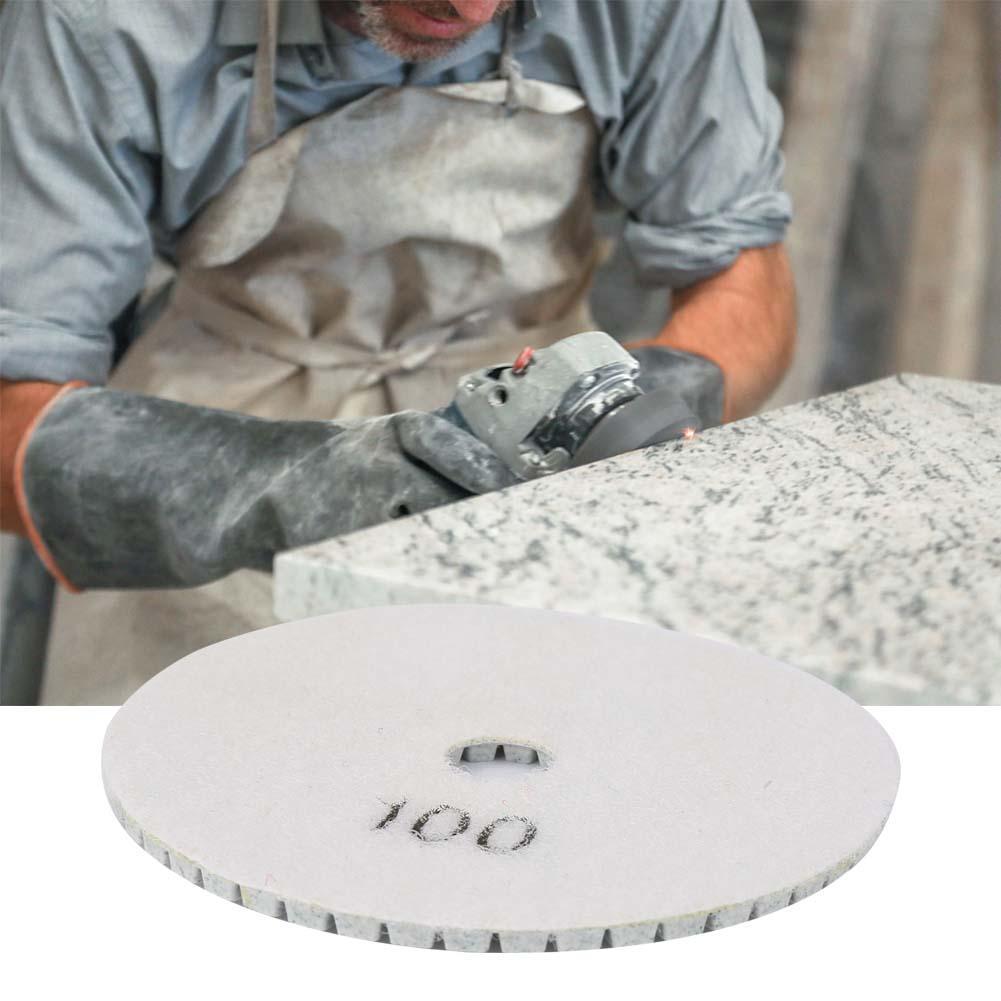 3.9 inch Diameter Stone polishing Tile 1000 grit Diamond Polisher