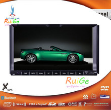 HD 7 INCH 2 din Android capacitive touchscreen car DVD player GPS+Wifi+Bluetooth+Radio + 1 GB CPU + 3 G + car pc + stereo