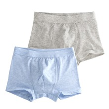 Buy 2 Pcs/Lot Boys Underwear Pure Color Kids Shorts Panties Cotton Baby Children Boxer Teenager Underpants 2-16T for $5.71 in AliExpress store