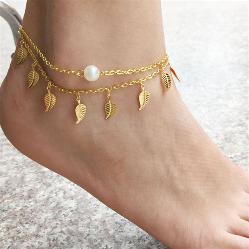 2018 NEW Beads anklets for women Anklet Ankle Bracelet Cheville Barefoot Beach Foot Jewelry Sandals Pulseras Tobilleras J20#N (4)