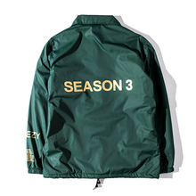 2017 New Season 3 Jacket Men Kanye West Purpose Tour I Feel Like Pablo Brand Coaches Jackets Windproof Windbreaker Camo Military