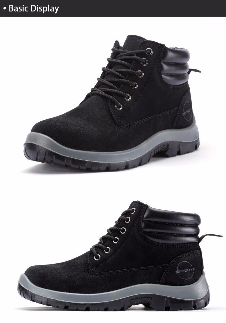 Modyf Men Steel Toe Cap Work Safety Shoes Outdoor Ankle Boots Fashion Puncture Proof Footwear Online Shop Back To Search Resultsshoes