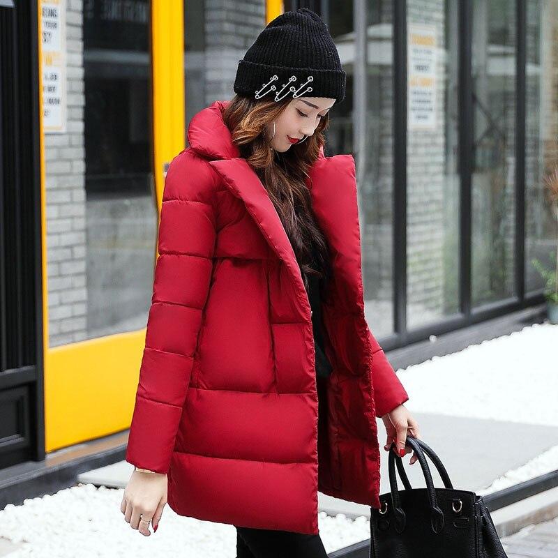 2017 Winter New Fashion Female Zipper Hooded Long Cotton-padded Jackets Parkas Women Casual Thick Warm Long Sleeve Loose CoatsÎäåæäà è àêñåññóàðû<br><br>