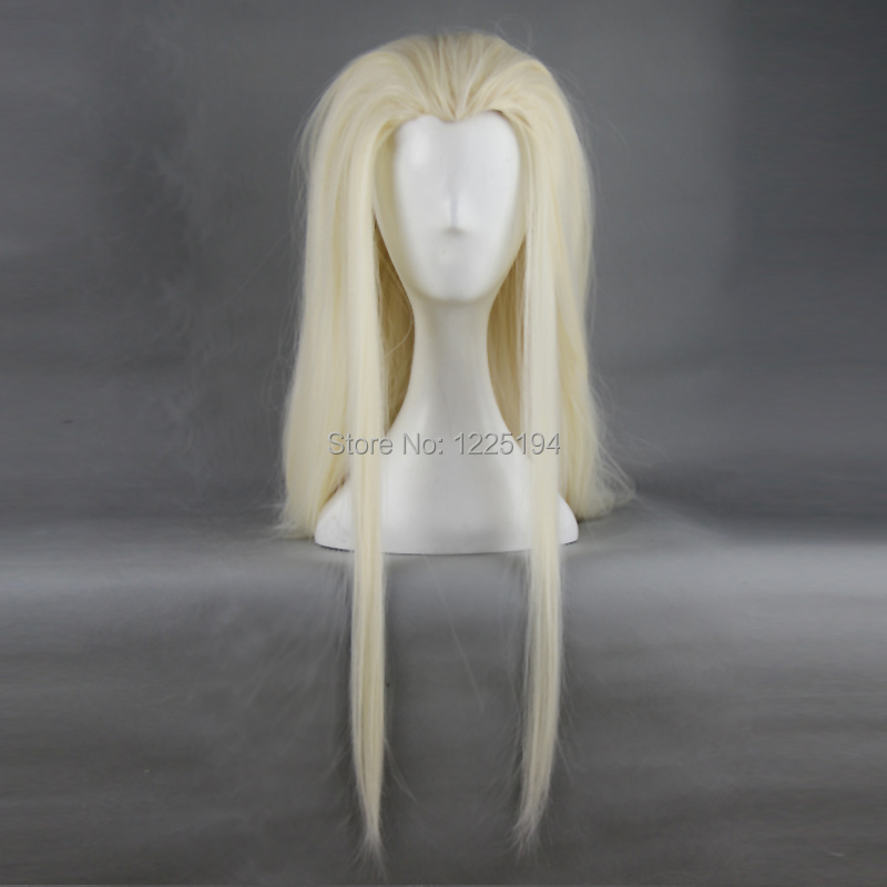 Hobbits The Lord Of The Rings Thranduil 78cm Length Women Dark Brown Long Wigs Party Halloween Cosplay Wig Hair Cap Hairnet<br><br>Aliexpress