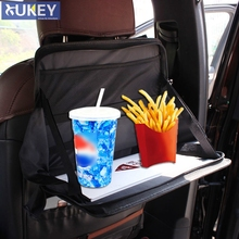 Car Back Seat Laptop Holder Tray Bag Mount Food Table Work Desk Organizer Travel Dinning Phone Accessories