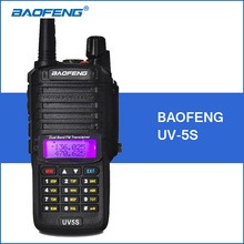 Baofeng UV5S Walkie Talkie 8W Same as BF-A58 VHF UHF Dual Band Portable Walkie Talkies 2800mAh Two Way Ham CB Radio Transceiver(China)