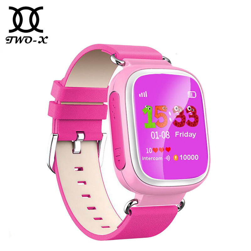 child GPS Smart Watch Q80 Wristwatch SOS Call Location Finder Locator Device Tracker for Kid Safe Anti Lost Monitor PK q50 q100(China (Mainland))