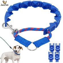 JANPET Humenly Medium/Large Dog Behavior Training Leashes Anti-Bark Small Dog Command Collar without Shocking-electric function(China)
