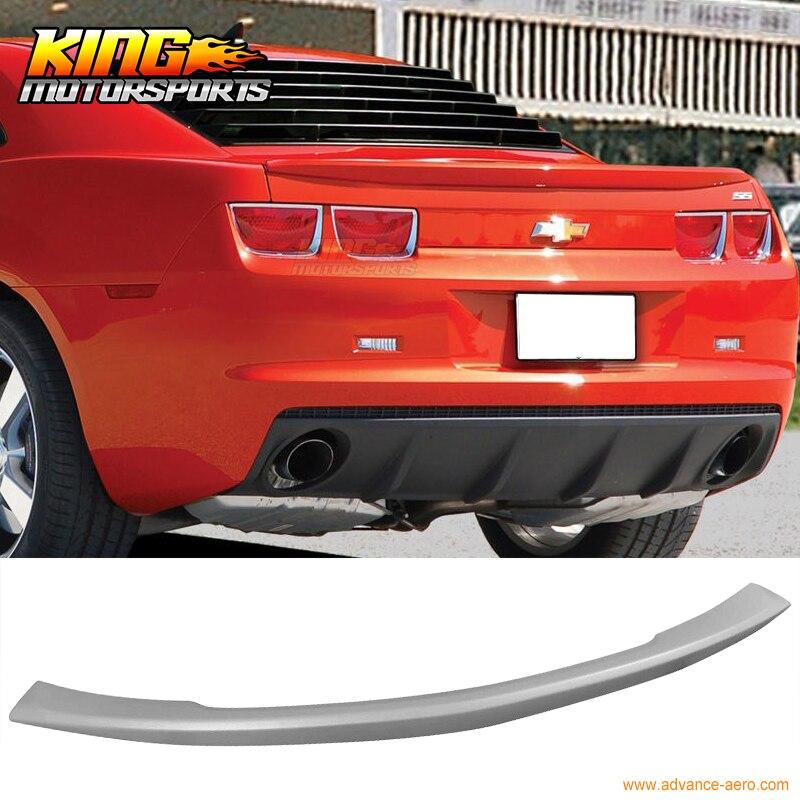 primer BRAND NEW 2010-2013 Chevrolet Camaro ZL1 Style Rear Spoiler W// LED Wing