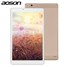 High Speed smart 10.1 inch Quad Core 32GB Tablet PC Aoson R103 Android 6.0 Tablet 2GB RAM MTK8163 1280*800 Wifi PAD Metal Case(China)