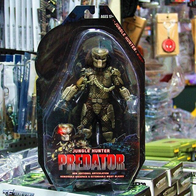 Predator Series 8 Jungle Hunter Classic Predator 25th Anniversary Action Figure Toy Model PVC 18 cm Free Shipping<br><br>Aliexpress