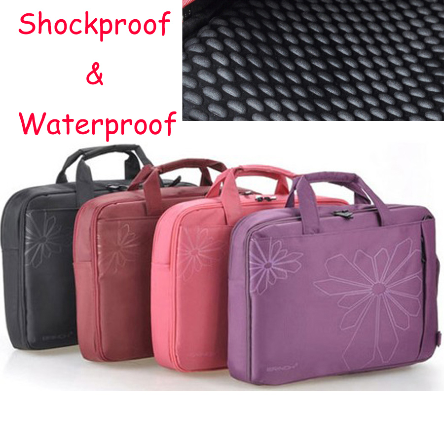 12 14 15 15.6 Inch Waterproof Shockproof Nylon Laptop Notebook Tablet Bag Bags Case sleeve Messenger for men women<br><br>Aliexpress