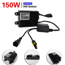 Buy 1Pcs 150W 12V Replacement HID Xenon foglights Ballast H1 H3 lamp bi xenon h4 bi-xenon H7 H11 9005 HB3 9006 HB4 4300K 6000K 8000K for $19.97 in AliExpress store