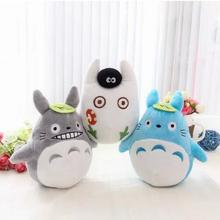 1pcs 15cm cute soft plush cartoon animal totoro toy filling with bamboo charcoal package creative family car decorated toy gift