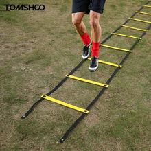 TOMSHOO 11 Rung 5 Meters Agility Ladder Speed Training Ladder For Soccer Football Feet Speed Training Fitness Workout +Carry Bag