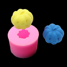 Diy Silicone Mold Soap Mold Resin Molded Chocolate Halloween Pumpkin 3d Arts And Crafts Kitchen Baking Cake Candles