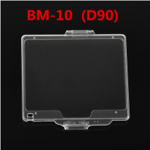 SMILYOU New Hard Plastic Film LCD Monitor Screen Cover Protector for Nikon D90 as BM-10 free shipping