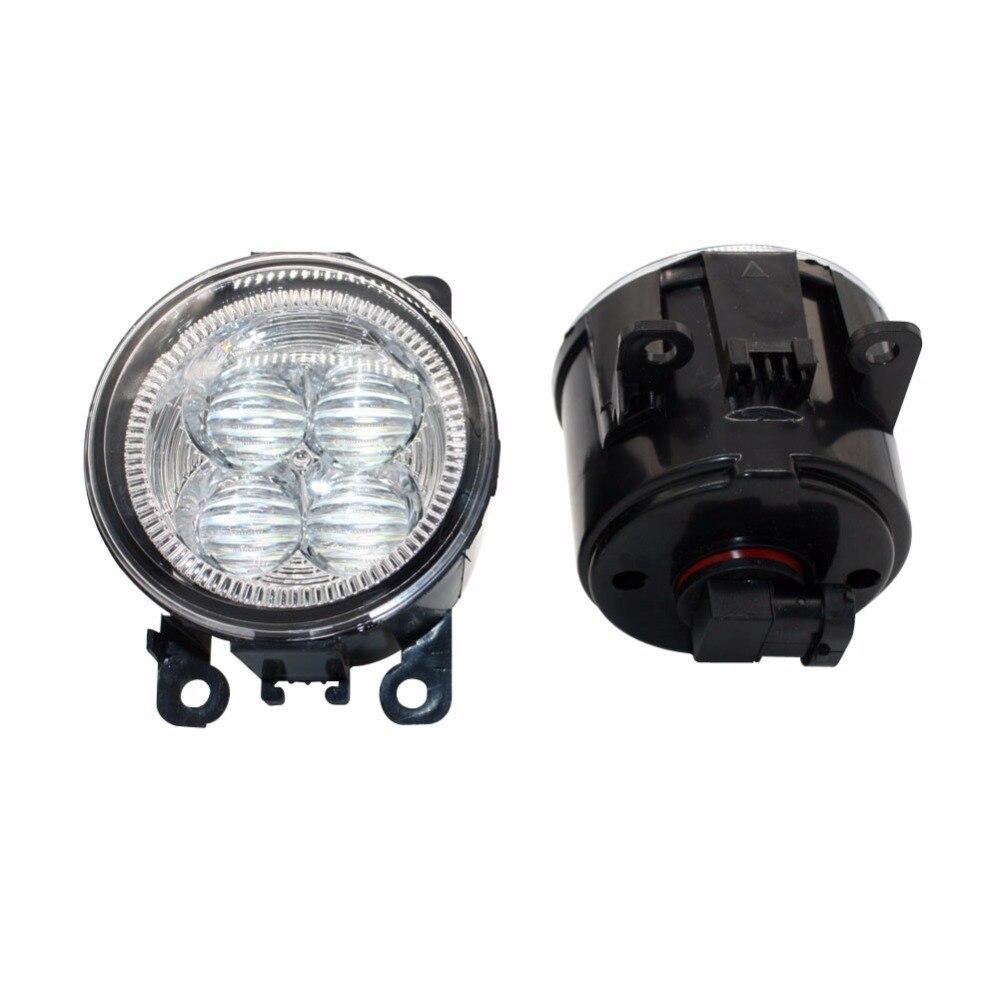 LED Front Fog Lights For Lincoln LS 2005-2006 Car Styling Bumper High Brightness DRL Driving fog lamps 1set<br>