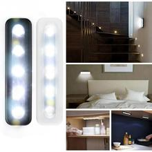 mini wireless 5 LED night light wall light  home lighting for under kitchen cabinets Staircase with Removable Base Adhes