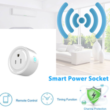 WiFi Smart Socket Outlet Phone Remote Control Timer Switch Power US Plug