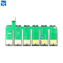 10pcs T0791 791 79 auto reset ARC Chip ink cartridge chip for epson R1400 1430 PX700W PX800FW P50 PX830FWD 1500 1500W ciss(China)