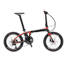 SAVA Folding Bike Carbon Fiber Frame 20 inch SHIMANO 22 Speed SHIMANO 105 5800 Group Set Mini Compact City Bike Disc Brake(China)